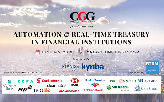 Automation & real-time treasury in financial institutions, London in review