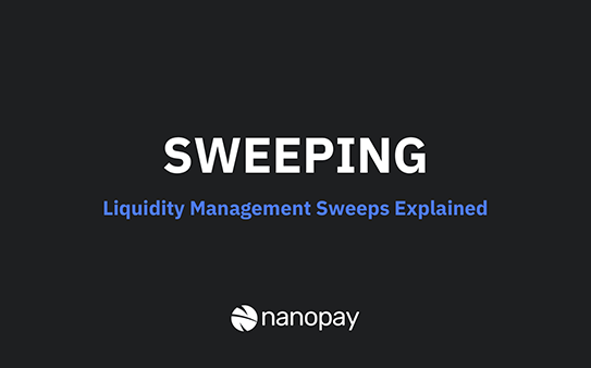 Explained: liquidity management sweeps