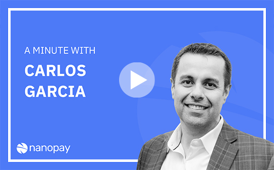 'A Minute With' Carlos, preventing fraud in a faster payments environment