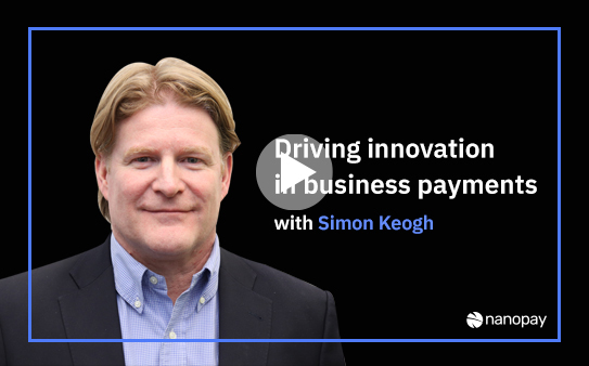 Driving innovation in business payments with Simon Keogh