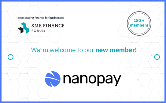 nanopay joins the SME Finance Forum global membership network